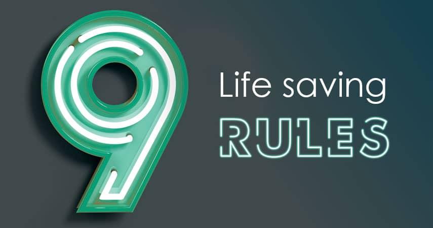 Life Saving Rules