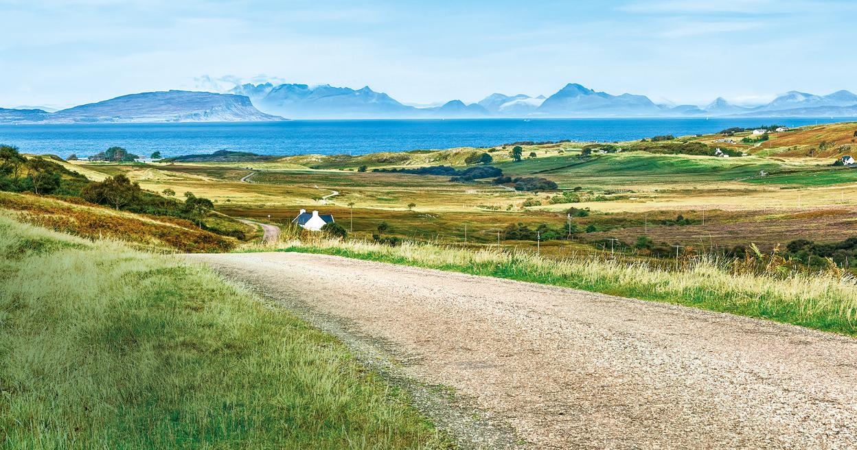 Scotland's village of Kilmory improves access to mobile services.