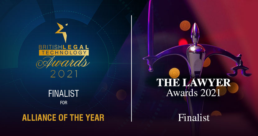 Cornerstone shortlisted for British Legal Technology Awards and The Lawyer Awards