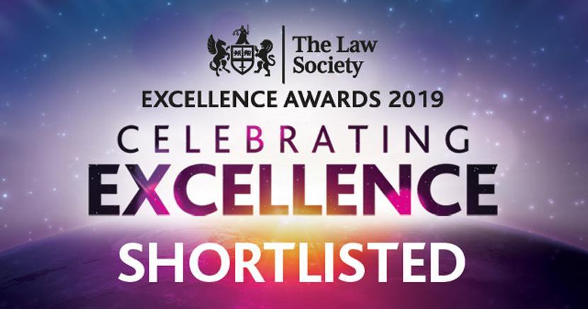 Cornerstone shortlisted for prestigious legal awards